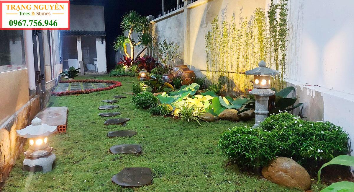 Thi công sân vườn biệt thự tại đồng nai