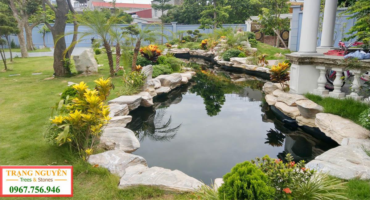 Cảnh quan hồ cá